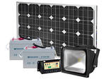 LEDSOLAR-FL40 - 40W Floodlight Solar Kit